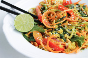 Twisted Thai Peanut Curry Bowl