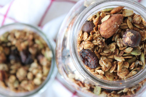 Healthy Nut & Seed Granola