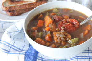 Feel-Good Lentil Soup