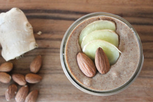 Ginger Spiced Almond Butter + Ayurveda: A Beginners Guide