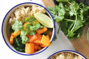 Butternut Squash & Chickpea Curry + My First Ayurvedic Consultation